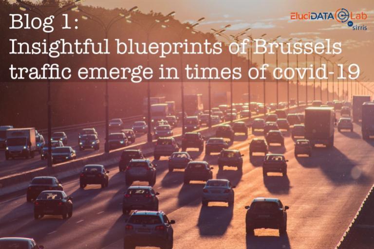 Insightful blueprints of Brussels traffic emerge in times of covid-19
